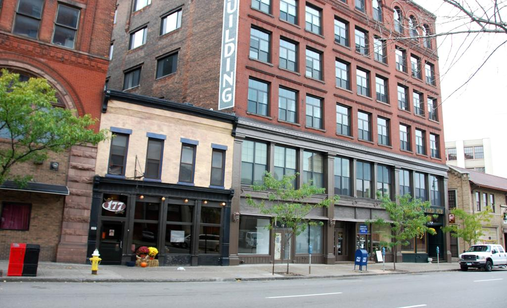 The Searle Building, In Rochesteru0027s St. Paul Quarter, Has Been Recently  Converted Into 31 Live/work Lofts. Ranging From 550 To 2200 Square Feet, ...